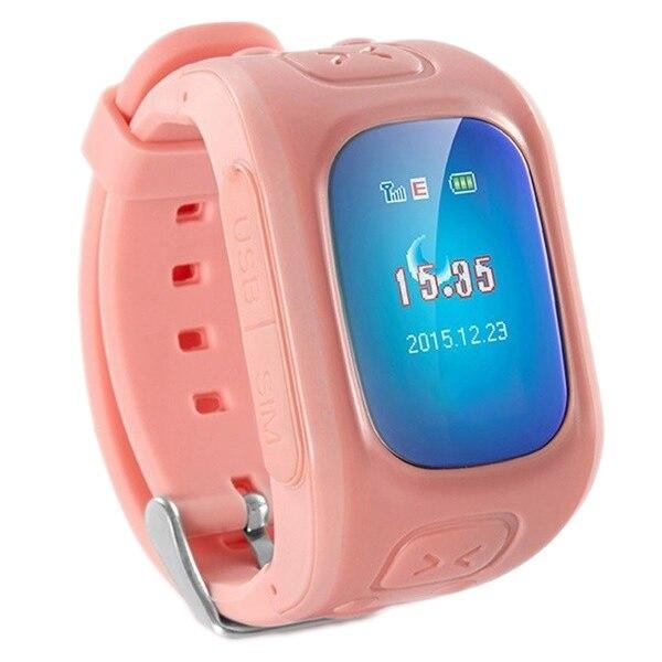 Fotografie Ceas Smartwatch copii iUni U6, Localizare Wi-Fi, GPS, Apel SOS, Pedometru, Monitorizare somn, Pink