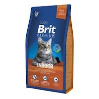 Суха храна за котки Brit Premium, Indoor, 8 кг