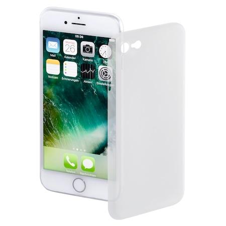 Предпазен калъф Hama Ultra Slim Cover за Apple iPhone 8 / iPhone 7, Transparent/White