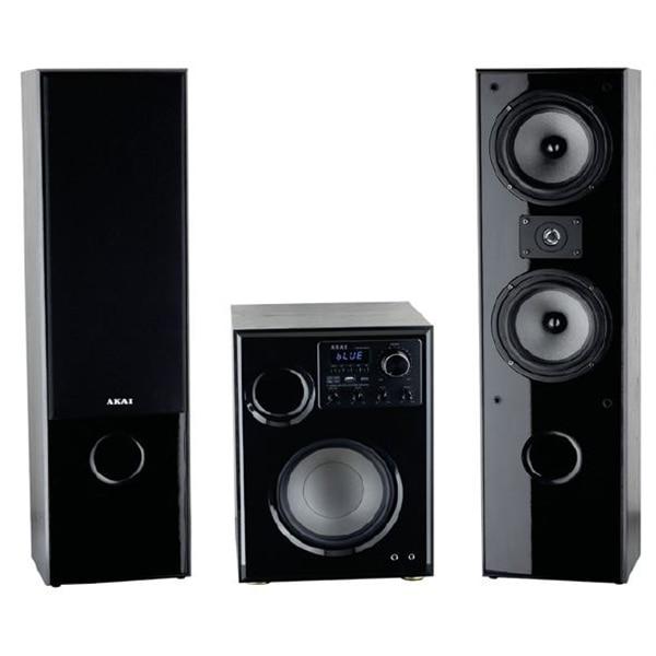 Fotografie Sistem audio AKAI SS034A-66T, 2.1, 100 W, Bluetooth, USB, Karaoke, Negru