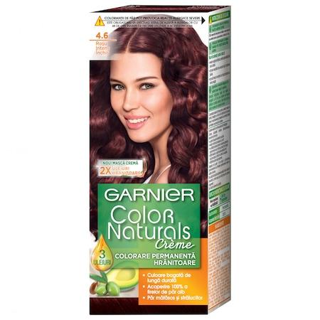 Боя за коса с амоняк Garnier Color Naturals 4.6, Червено кестеняво