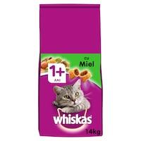 Суха храна за котки Whiskas, Агнешко месо, 14 кг