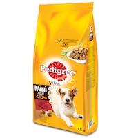 Hrana uscata pentru caini Pedigree Adult talie mica, Vita & Legume, 12Kg