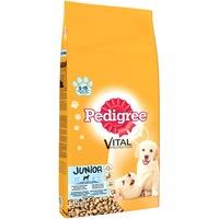 Суха храна за кучета Pedigree Junior, Пиле и ориз, 15 кг