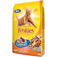 Суха храна за котки FRISKIES ADULT Cat, Пиле & Зеленчуци, 10 кг