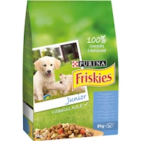 Hrana uscata pentru caini Friskies, Junior, 8kg