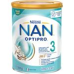Lapte praf Nestle NAN 3 Optipro, 800 g, 1-2 ani