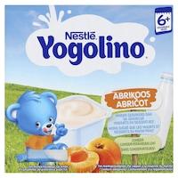 Nestle Yogolino Tejalapú barackos bébidesszert, 6hó+, 4x100g