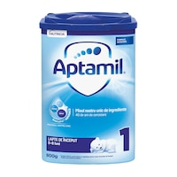 Lapte praf Aptamil 1, 800 g, 0-6 luni