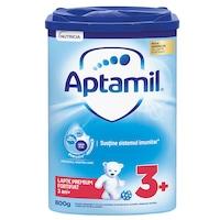 Lapte praf Aptamil Junior 3+, 800 g, de la 3 ani