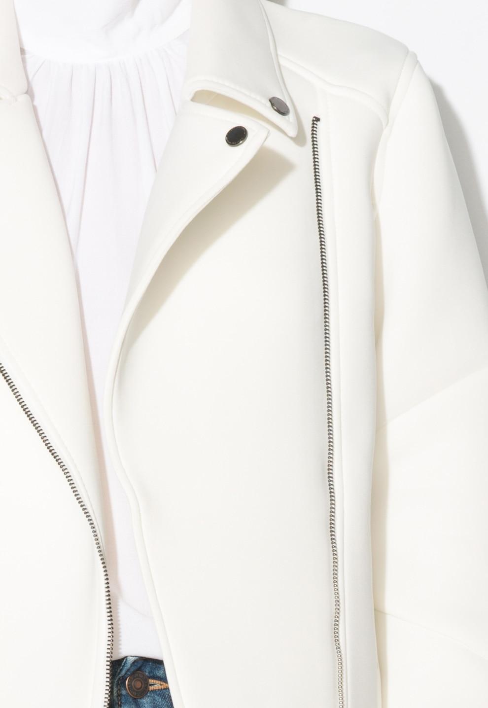 Mexx női kabát, neoprén, vaj fehér, 36 EU eMAG.hu