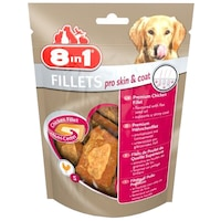 Recompensa caine 8in1 Fillets SKIN&COAT S, 80 g