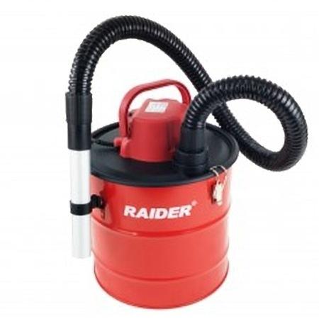 Прахосмукачка за пепел Raider RD-WC02, Червена