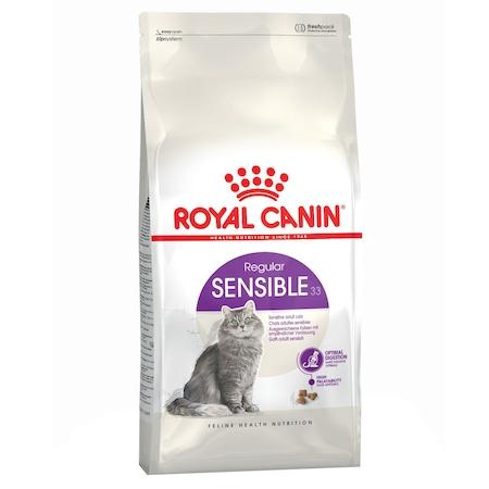 Суха храна за котки Royal Canin Sensible 33, 2 кг