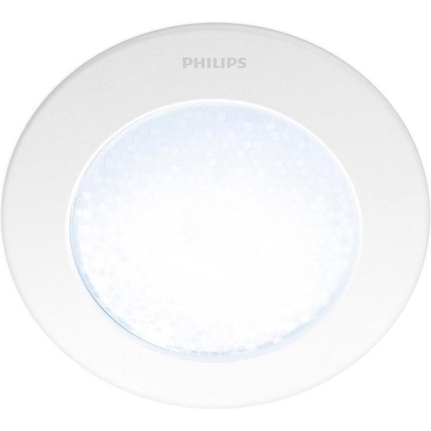 Fotografie Corp de iluminat incastrat Philips Hue Phoenix, LED, Wi-Fi, 1x5W, lumina alba reglabila calda-rece