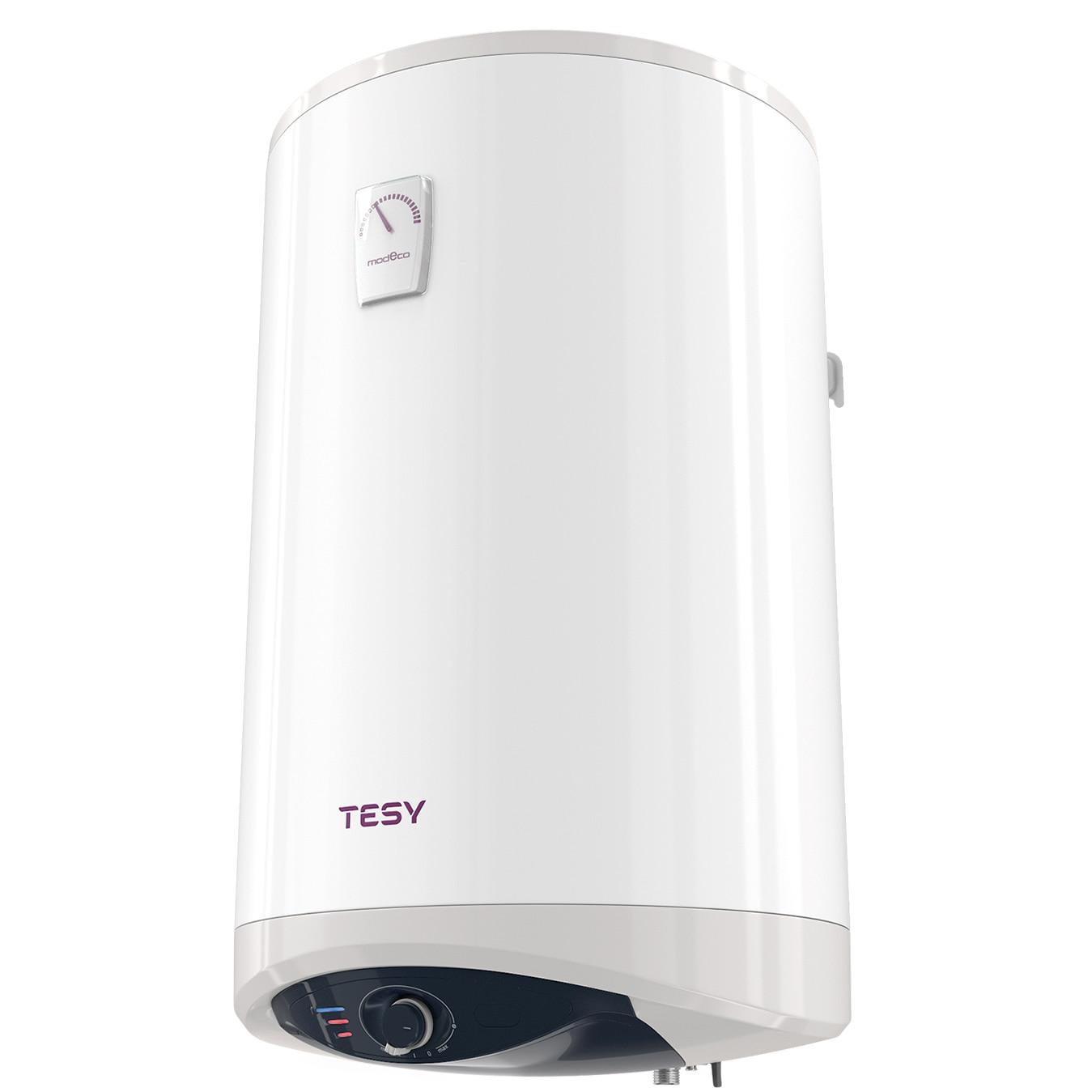 Fotografie Boiler electric vertical Tesy Modeco GCV 804716D C21 TS2RC, 1600 W, 80 litri, 2 trepte putere, Element de incalzire ceramic, cablu si stecher inclus