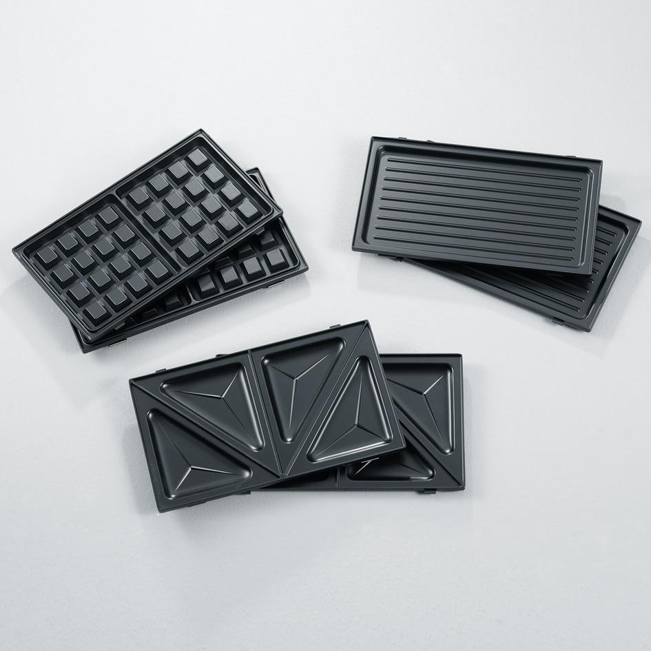 Severin SA2968 Multi szendvicssütő, grill, gofri 3in1, 1000W, LED működésjelző, fekete jQms9y