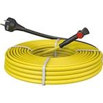 Комплект кабели за размразяване на тръби C&F Technics, Щепсел и термостат, 10W, 1 м