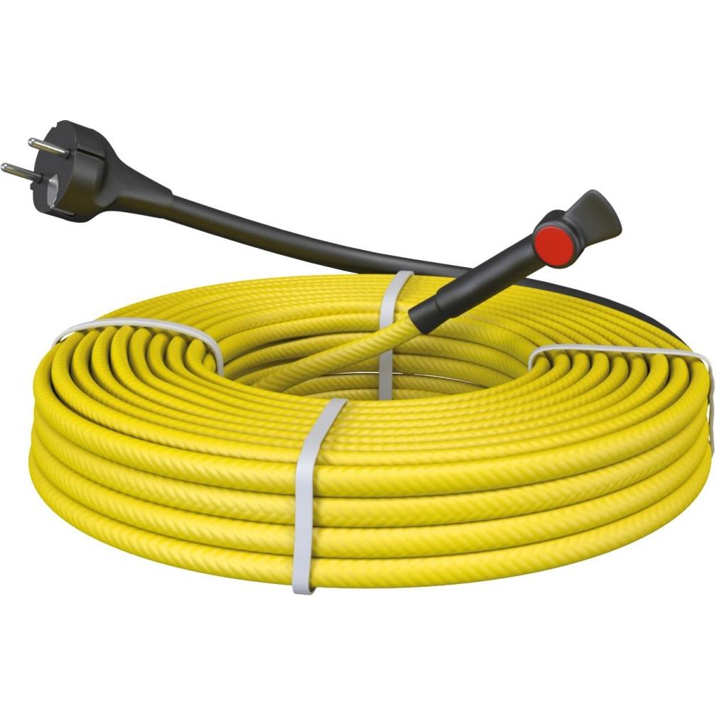 Fotografie Pachet cablu degivrare conducte C&F Technics, cu stecher si termostat, 220W, 22 m