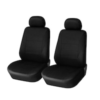 Калъфи/тапицерия за предни седалки Flexzon, Универсални, Черни