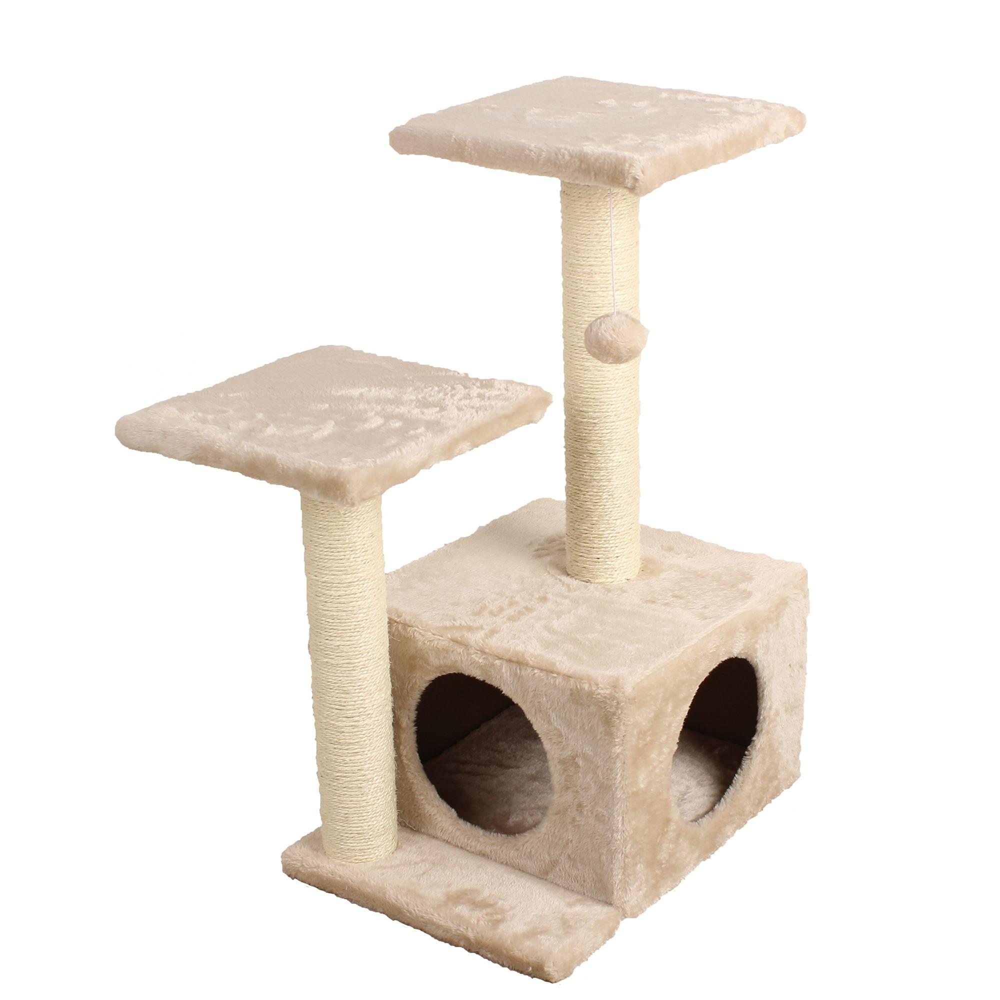 Fotografie Ansamblu de joaca pentru pisici Mellow Mari, 30x40x71 cm
