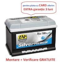 Baterie auto Zap Silver Premium 75Ah