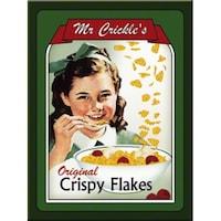 Magnet frigider - Mr. Crickles Crispy Flakes