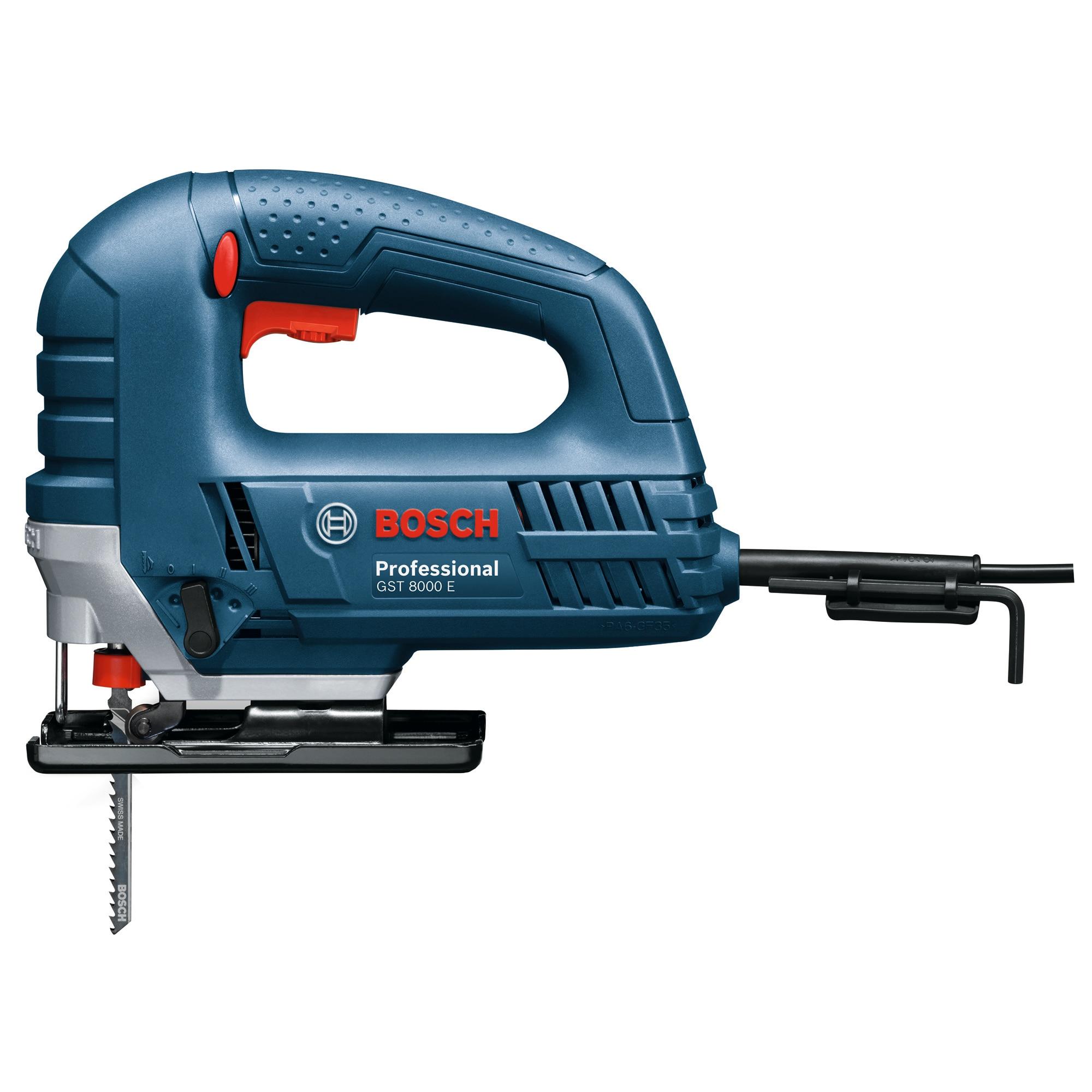 Fotografie Fierastrau vertical Bosch Professional GST 8000 E, 710W, 3100rpm, 80mm