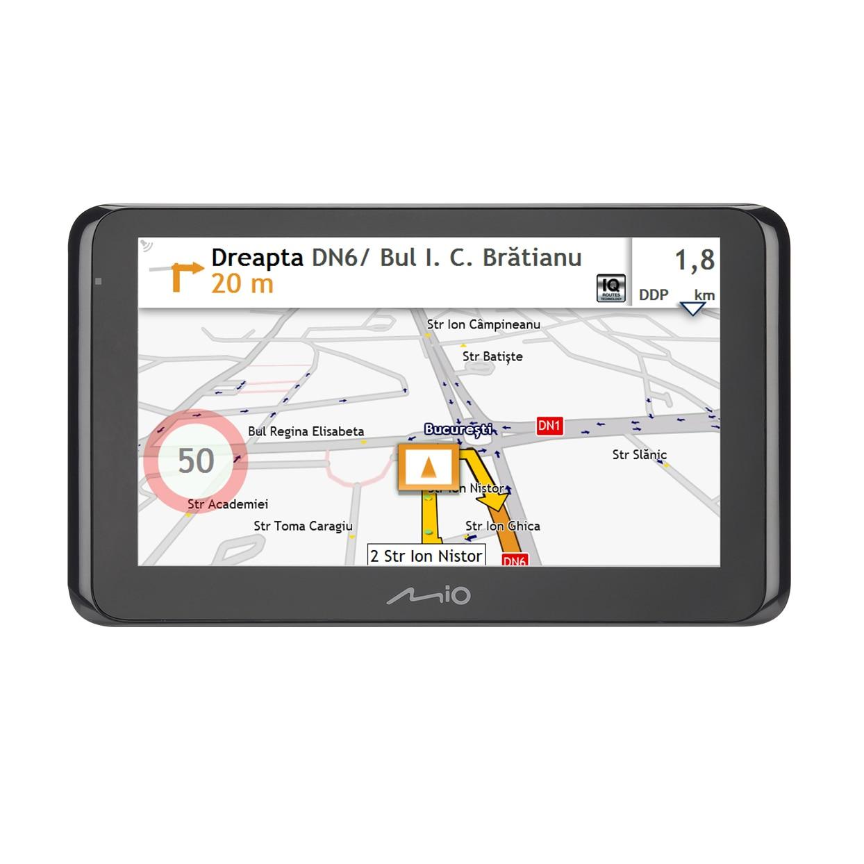 "Fotografie Sistem de navigatie Mio Spirit 8670 LM Truck, diagonala 6.2"", Bluetooth, TMC, Full Europe + actualizari gratuite pe viata"