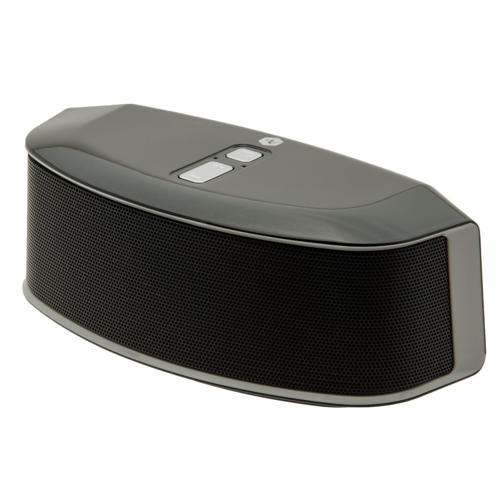 Fotografie Boxa portabila bluetooth A+ Soul, 12W, port USB/micro SD, Negru
