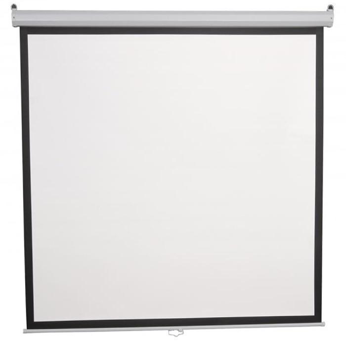 Fotografie Ecran de proiectie manual, SBOX, PSM-112, 200 x 200 cm