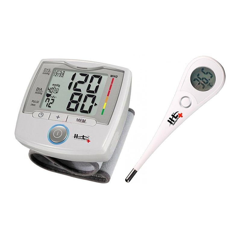 Комплект Healthy Line: Апарат за измерване на кръвно..