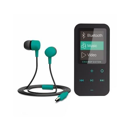 Mp4 плеър Energy Sistem, S426461, Bluetooth, 8 GB, FM, Touch, Mint