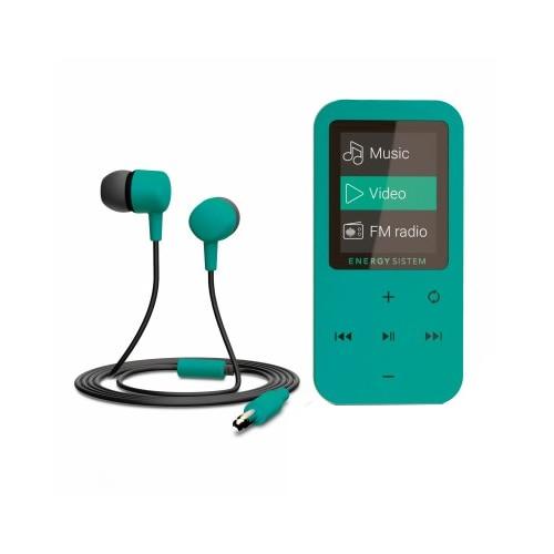 Fotografie Player Mp4 Energy Sistem, S426430, 8 GB, FM, Touch, Mint