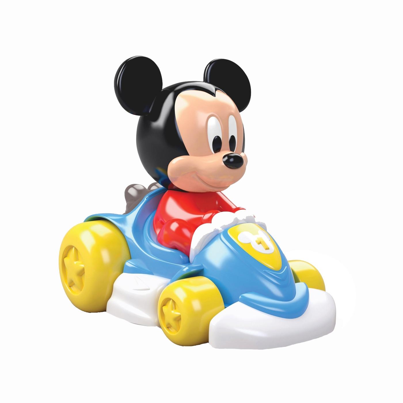 Fotografie Jucarie interactiva Clementoni, Masinuta de curse Mickey Mouse