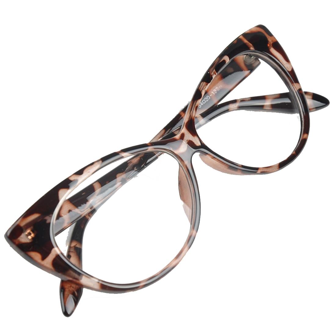 cod promoțional in stoc arata bine vanzare pantofi Rame - Ochelari cu lentile transparente cat eyes, leopard DyStyle - eMAG.ro