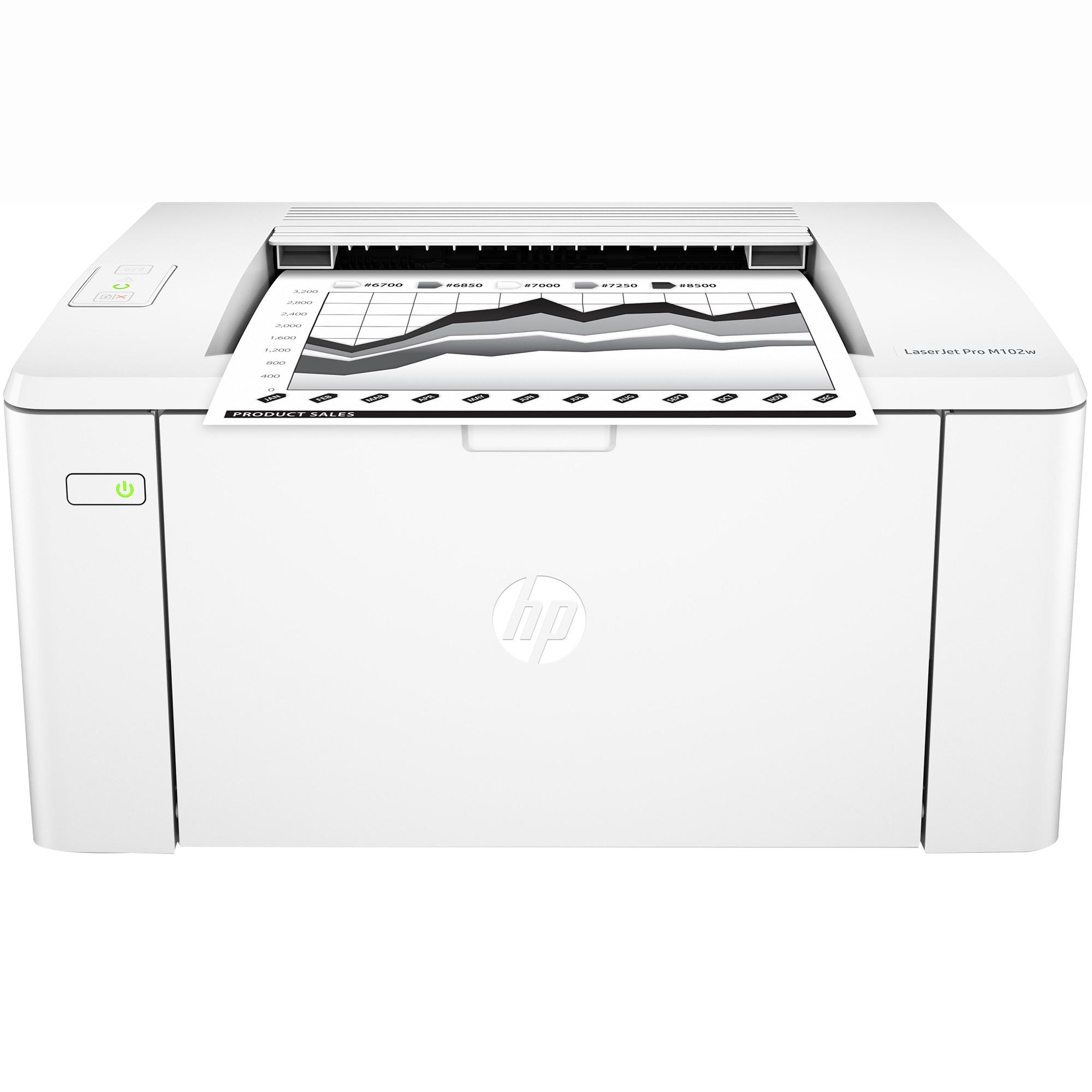 Fotografie Imprimanta Laser HP laserjet pro M102W mono, A4, Wireless
