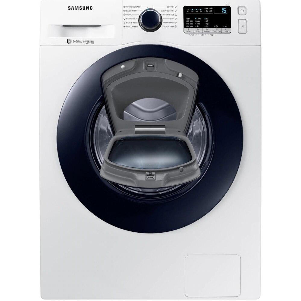 Fotografie Masina de spalat rufe Samsung Add-Wash WW70K44305W/LE, 7 kg, 1400 RPM, Clasa A+++, Motor Digital Inverter, Alb