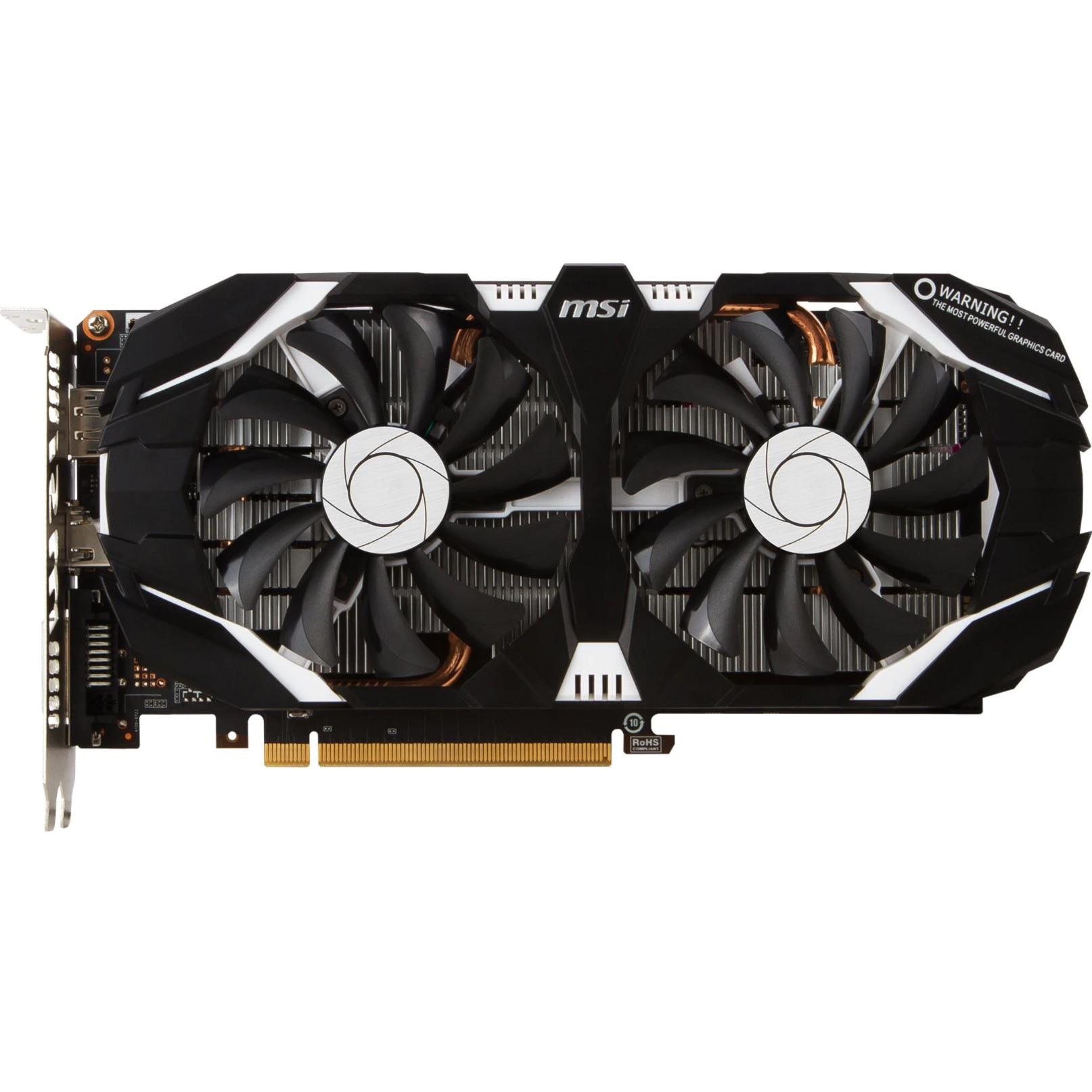 Fotografie Placa video MSI GeForce® GTX 1060 6GT OCV1, 6GB GDDR5, 192-bit
