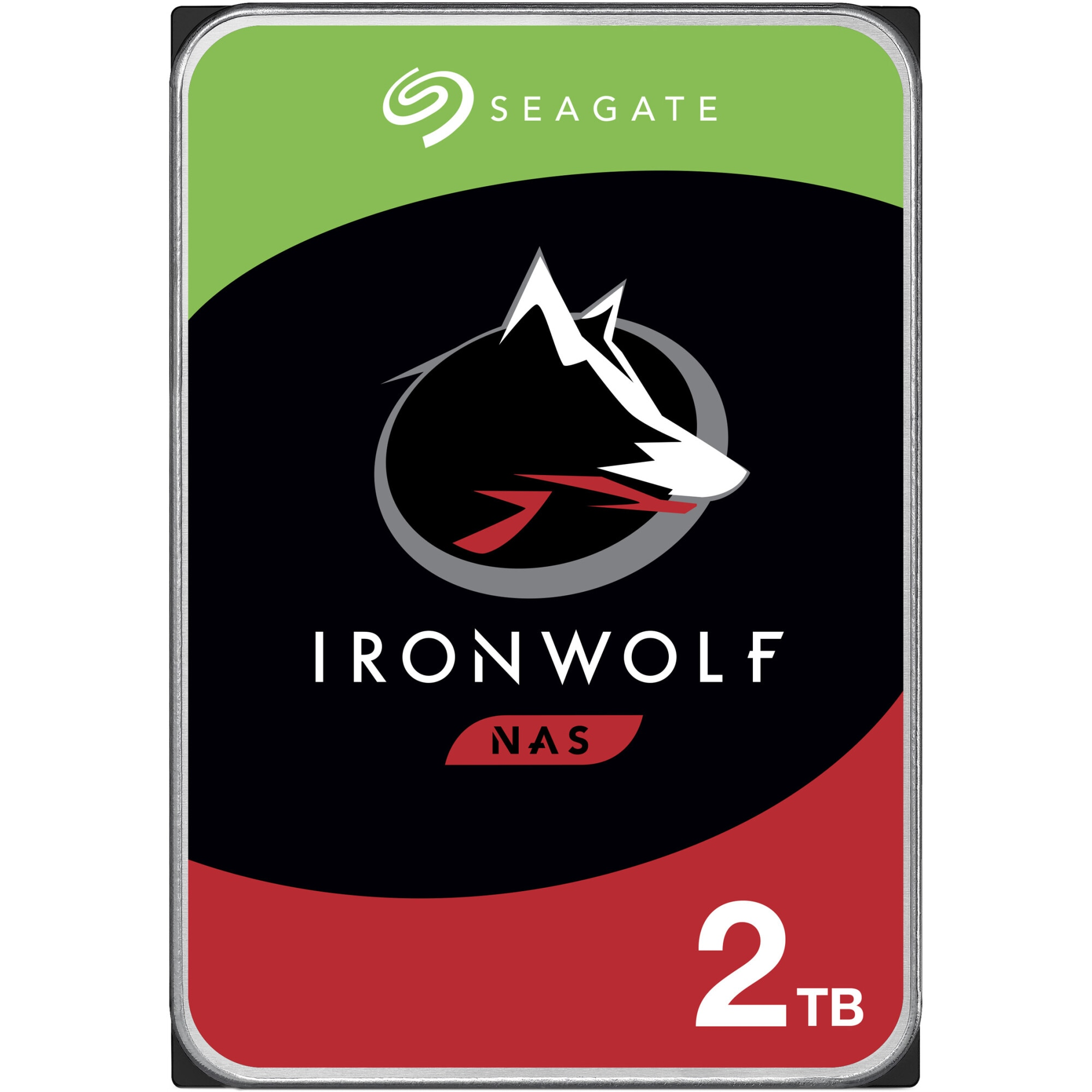 Fotografie HDD Seagate IronWolf NAS 2TB, 5900rpm, 64MB cache, SATA-III