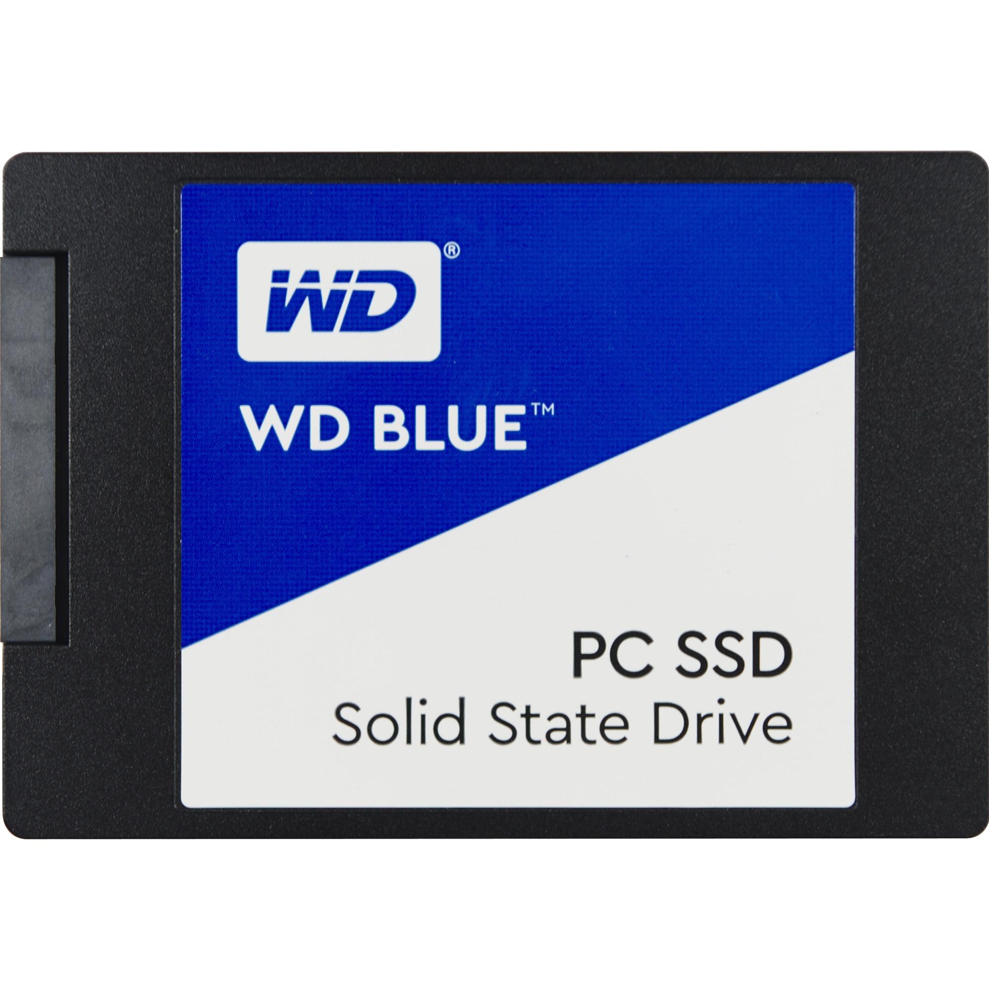 """Fotografie Solid State Drive (SSD) Western Digital Blue 3D, 500GB, 2.5"""", SATA III"""