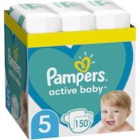 Scutece Pampers Active Baby XXL BOX, Marimea 5,11 -16 kg , 150 buc