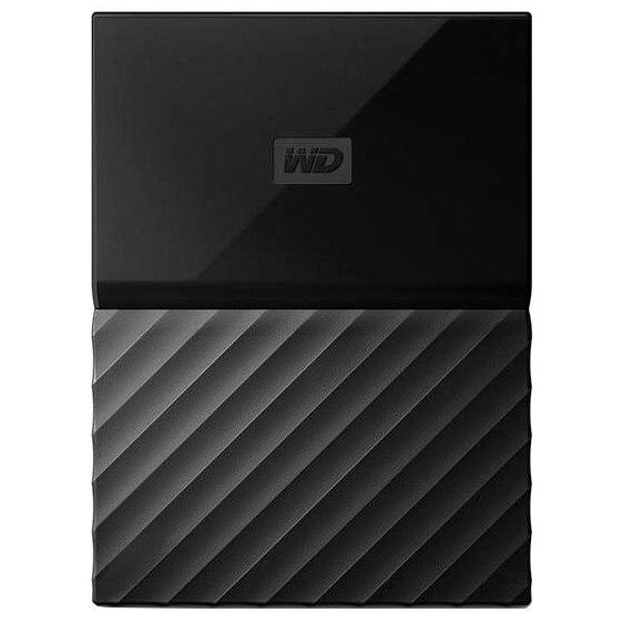 """Fotografie HDD extern WD My Passport 2TB, 2.5"""", USB 3.0, Negru"""