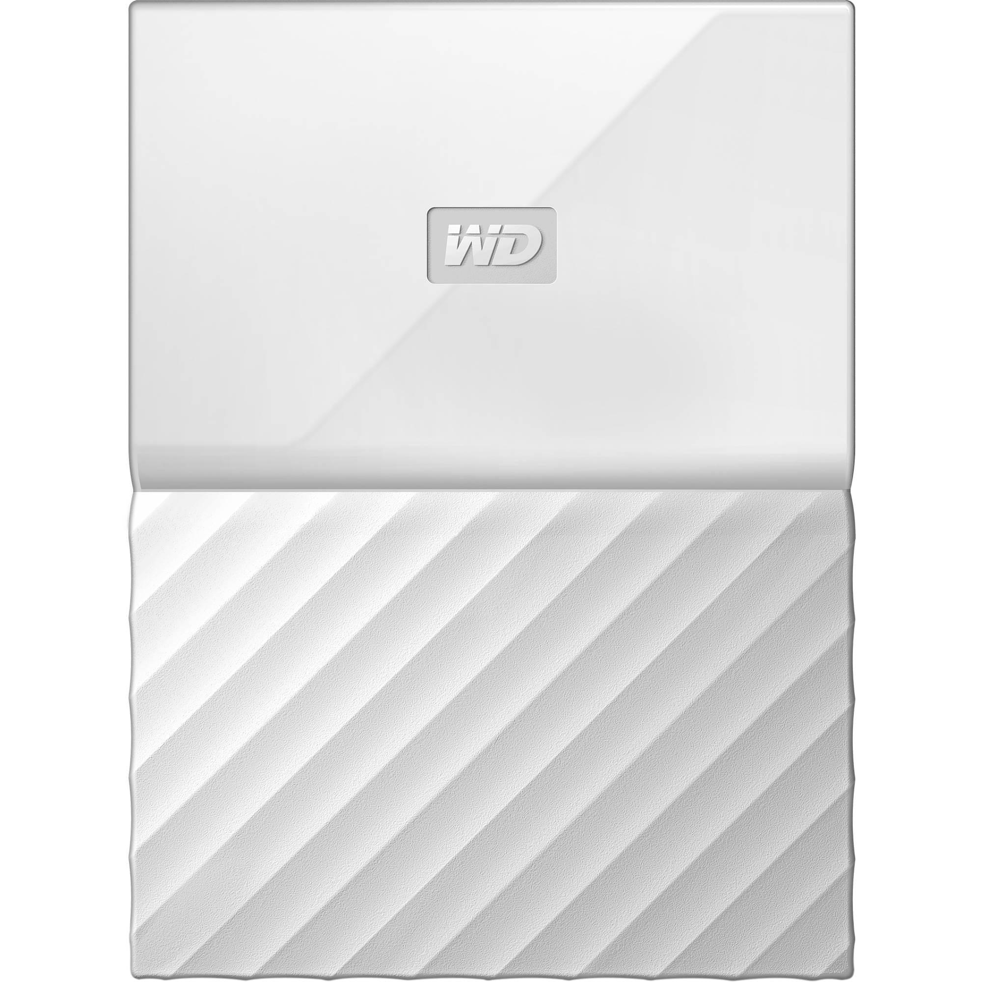 """Fotografie HDD extern WD My Passport 1TB, 2.5"""", USB 3.0, Alb"""