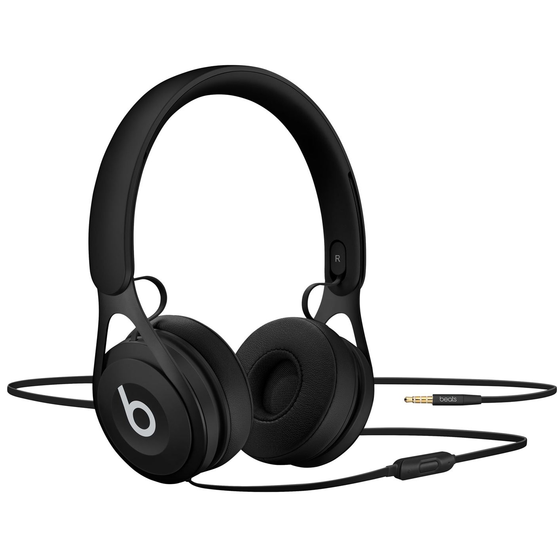 Fotografie Casti Audio On Ear Beats EP by Dr. Dre, Cu fir, Microfon, Black