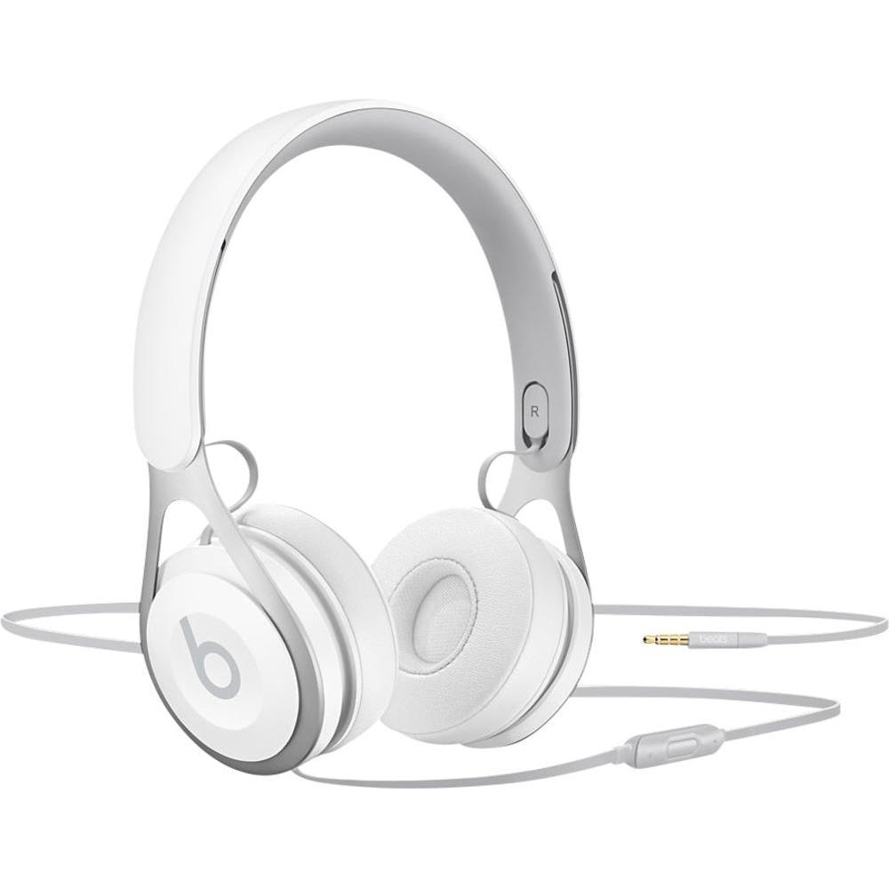 Fotografie Casti Audio On Ear Beats EP by Dr. Dre, Cu fir, Microfon, White