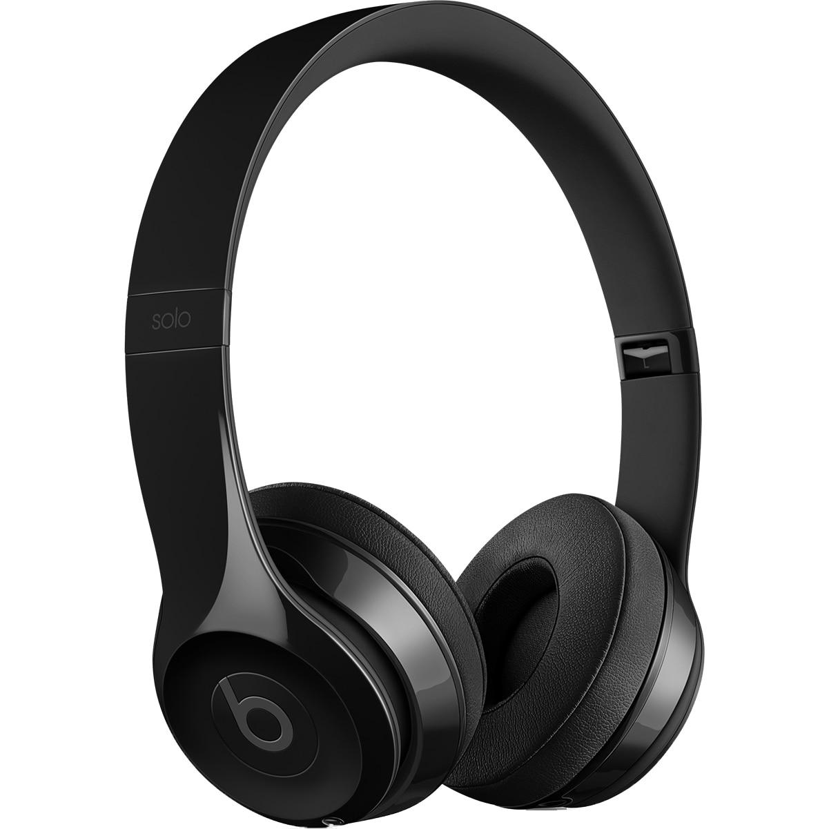 Fotografie Casti Audio On Ear pliabile Beats Solo 3 by Dr. Dre, Wireless, Bluetooth, Microfon, Autonomie 40 ore, Black