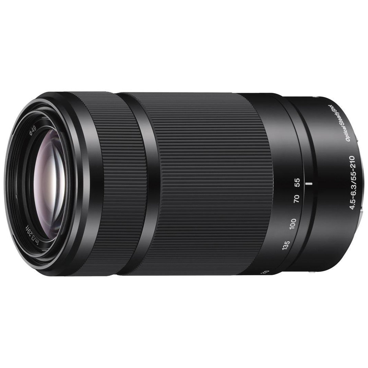Fotografie Obiectiv Sony, montura E, 55-210mm, F4.5-6.3 OSS, Negru