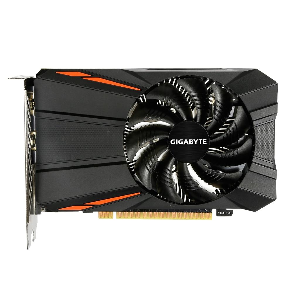 Fotografie Placa video Gigabyte GeForce® GTX 1050 Ti D5, 4GB GDDR5, 128-bit