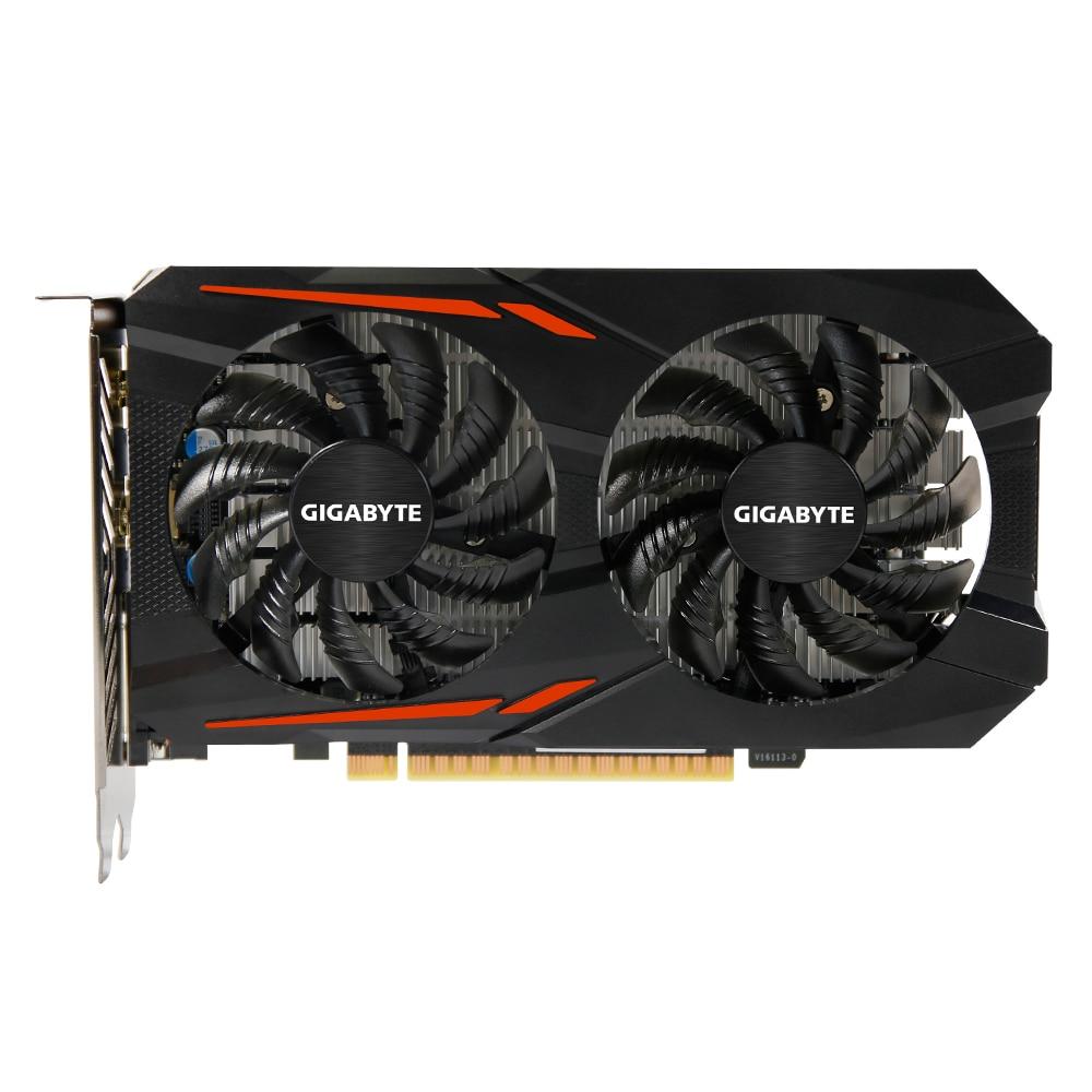 Fotografie Placa video Gigabyte GeForce® GTX 1050 OC, 2GB GDDR5, 128-bit